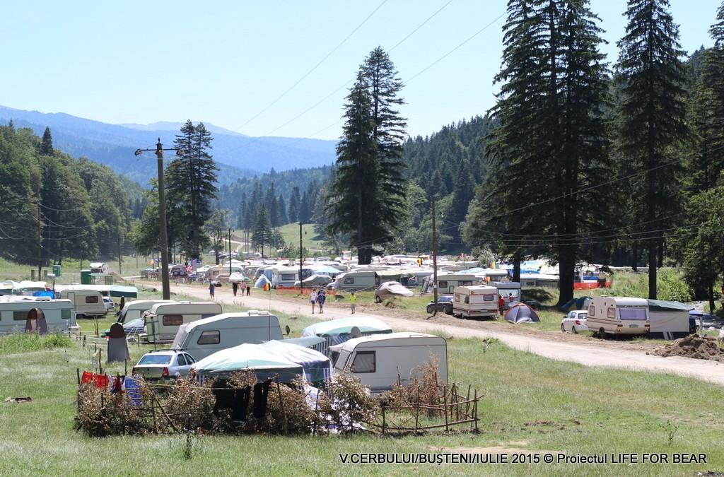 Acțiune de patrulare în luna iunie 2015 în diferite zone de conflict : Răcădău, Valea Cerbului.
